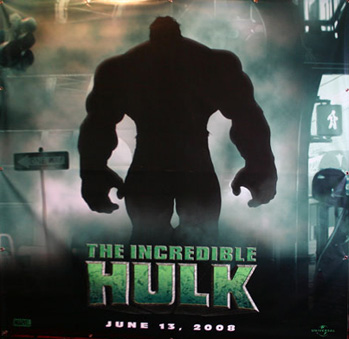 El teaser póster de The Incredible Hulk!